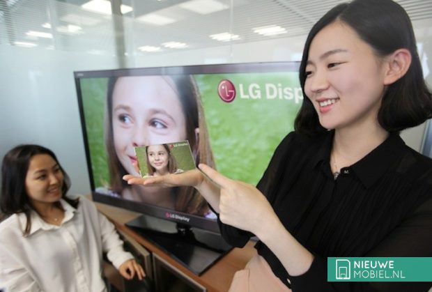 LG first full HD LCD smartphone display