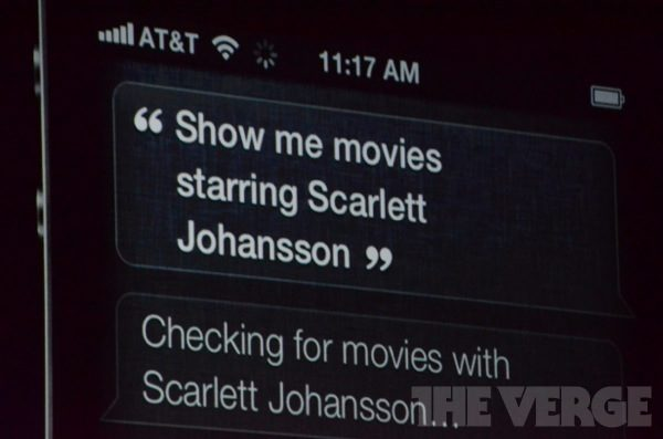 Siri known all about movies