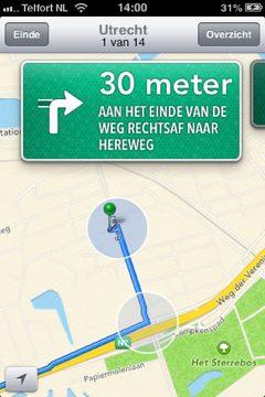 iOS6 navigation
