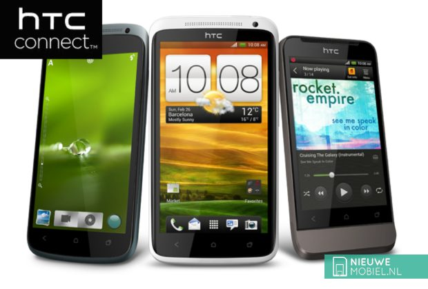 HTC One Serie with HTC connect