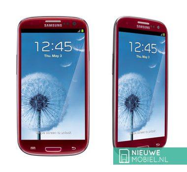 Samsung Galaxy S III Garnet Red