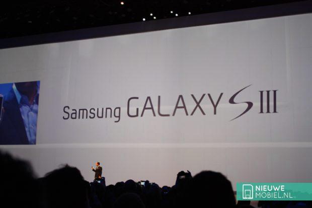 JK Shin during Galaxy S3 announcement