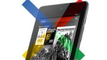 Google Nexus 7 tablet is groot succes