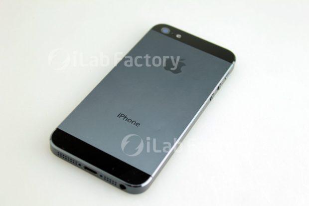 iPhone 5 rear
