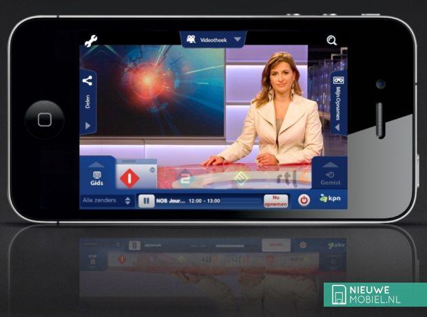 iPhone app iTV