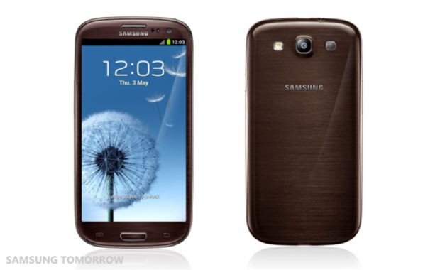 Samsung Galaxy S3 Amber Brown