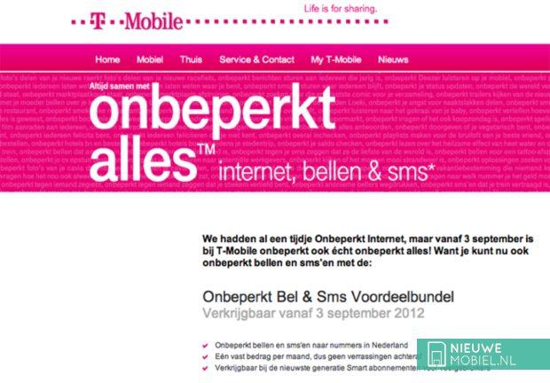 T-Mobile Onbeperkt alles