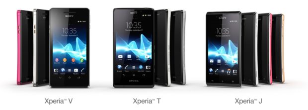 Sony new Xperia line up