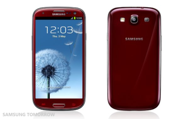 Samsung Galaxy S3 Garnet Red