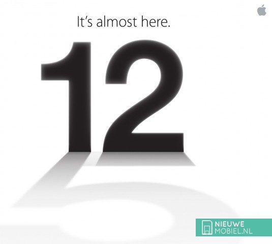 Apple 12 september event