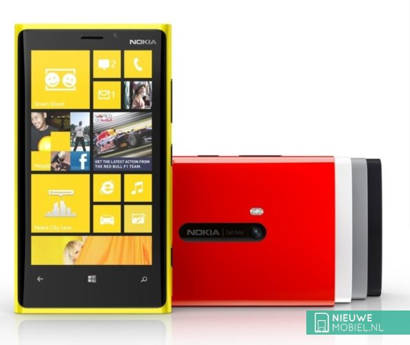 Nokia Lumia 920 with PureView