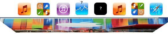 Shrunken apps