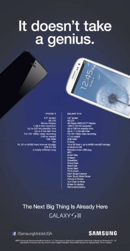 Samsung It Doesn't Take a Genius