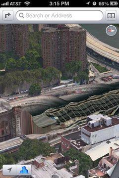 iOS6 maps screenshot