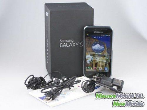 Samsung Galaxy S contents