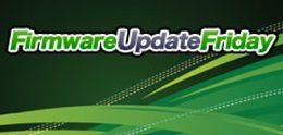 Firmware Update Friday - Week 44 2012