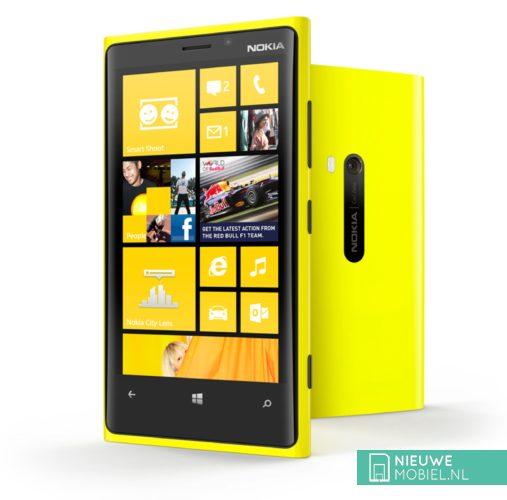 Nokia Lumia 920 yellow 2 devices