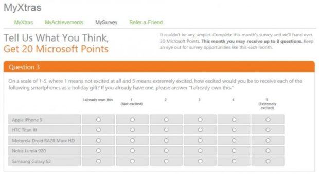 Xbox survey Titan III