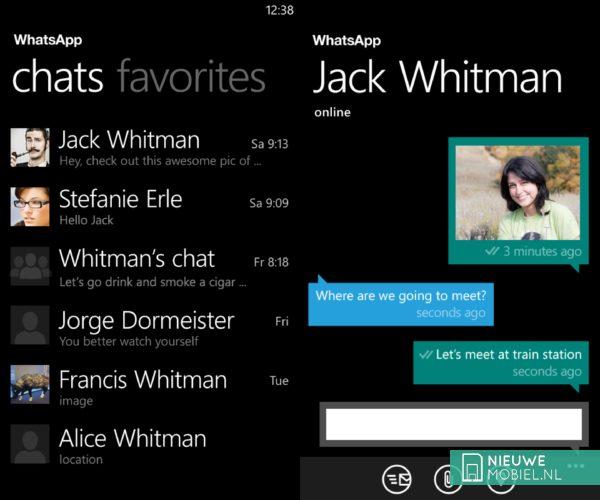WhatsApp for Windows Phone 8