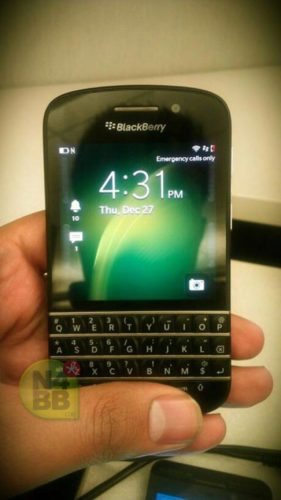 BlackBerry X10 N-series front
