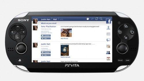 PS Vita Facebook