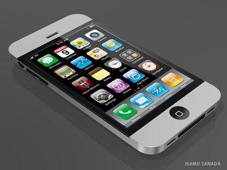 Een mockup van de iPhone 5, niet van Apple