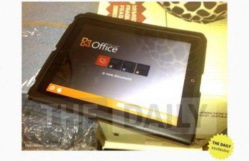 """Microsoft Office komt toch naar iPad"""