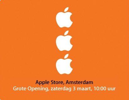 Apple komt naar Nederland met eigen winkel