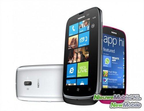 Nokia breidt Windows Phone-programma uit met Lumia 610 en 900