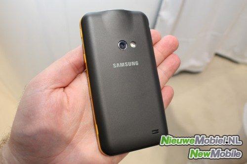 Samsung Galaxy Beam rear