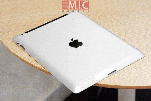 Apple iPad 3 rear