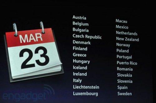 New Apple iPad 3 shipping dates