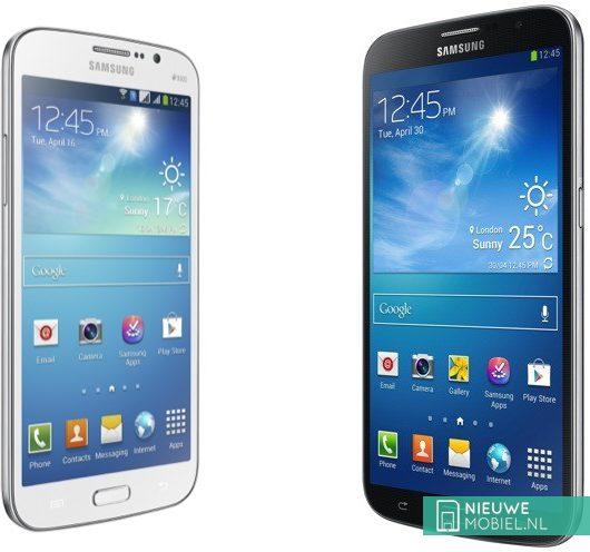 Samsung Galaxy Mega 5.8 and Mega 6.3