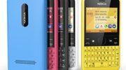 Nieuwe Nokia Asha 210 eerste met speciale WhatsApp-knop