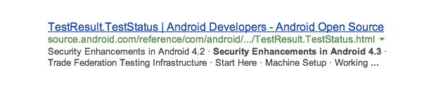 Android 4.3 vlakvoor Google I/O uitgelekt