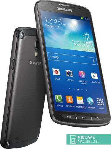 Samsung Galaxy S4 Active front and rear