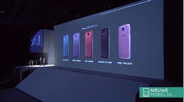 Roze versie Samsung Galaxy S4 aangekondigd