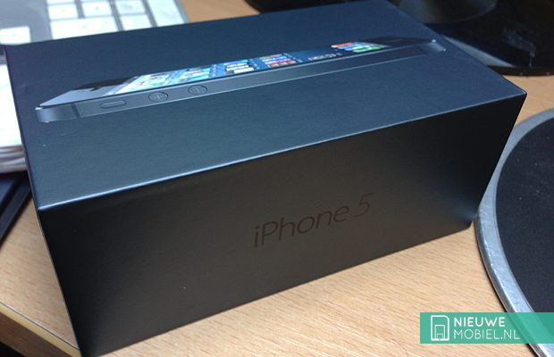 iPhone 5 in box