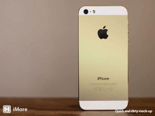 Champagnekleurige iPhone 5S in aantocht