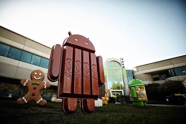 Android 4.4 KitKat mascotte