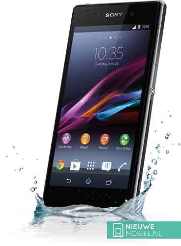 Sony Xperia Z1 water