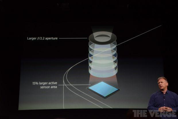 Apple iPhons 5S camera