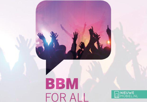 BBM voor iOS en Android komend weekend beschikbaar