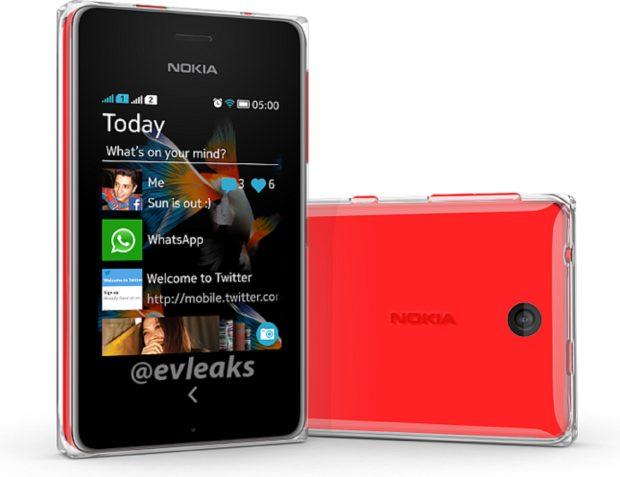 Afbeelding onaangekondigde Nokia Asha 500 Dual SIM duikt op