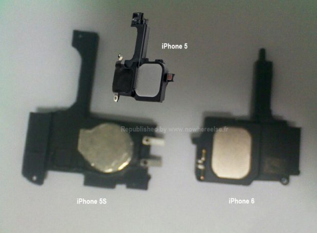 Apple iPhone 5S and 6 iPhone parts