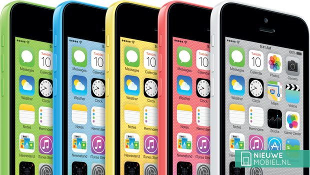Apple iPhone 5S en iPhone 5C op 25 oktober officieel in Nederland