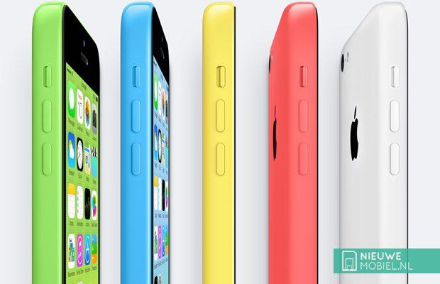 Apple halveert productie iPhone 5C