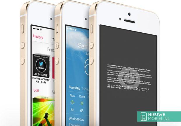 Apps crashen 2x zoveel op Apple iPhone 5S dan vorige modellen