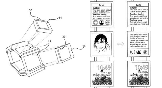 Nokia wearable patent