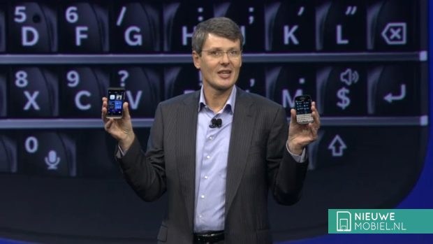 BlackBerry Z10 and Q10 introduced by Heins